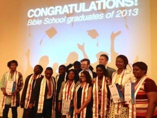 Making Disciples: 3 Bible Schools going in 2013!