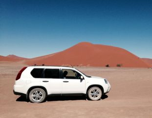 Dune 45... and our wheels in Africa