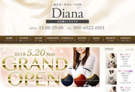 中目黒のメンズエステ店Diana(ダイアナ)の写真