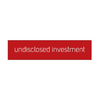 undisclosed investment