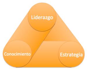 triángulo éxito project pmi