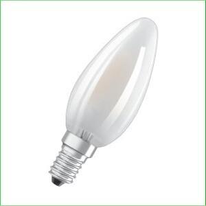 Kaarslamp E14 mat