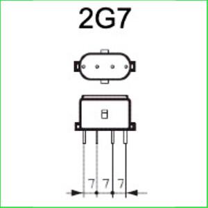 2G7 lampen