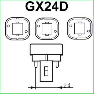 GX24D lampen