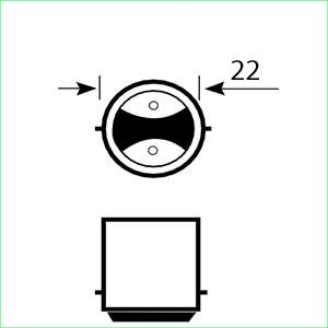 Ba22D lampen