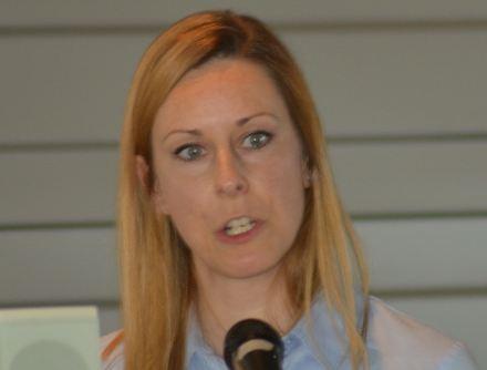Referentin Verena Harms vom Niedersächsischen Ministerium für Umwelt, Energie und Klimaschutz (Foto: Vogler)