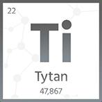 Tytan, pręty, blachy, rury