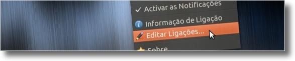 Configure a internet wireless da UBI no Ubuntu (1/6)