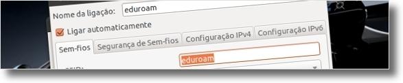 Configure a internet wireless da UBI no Ubuntu (4/6)