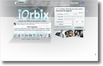 iOrbix - A rede social que te liga ao mundo (2/6)