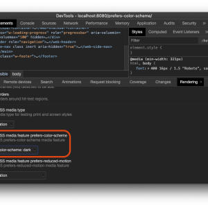 JavaScript ile dark mode sorgulamak