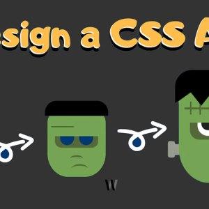 CSS ile sanat (Frankenstein)