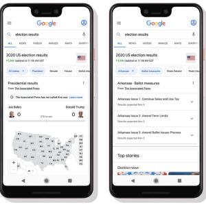 Google 2020 ABD seçimlerini 70 farklı dilde sunacak