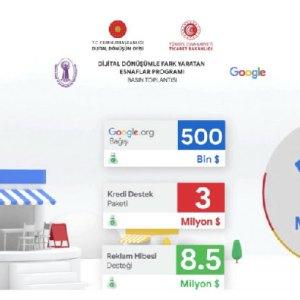 Google'dan esnaf ve KOBİ'lere destek