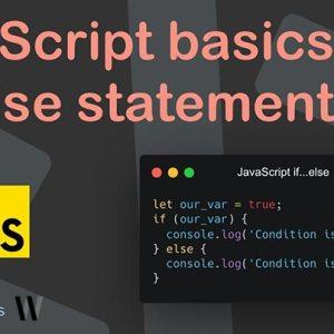 JavaScript temel if.. else yapı