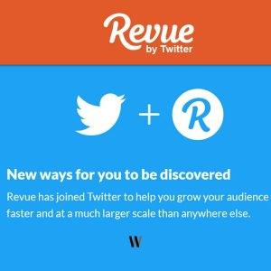 Revue ile Twitter kullanın