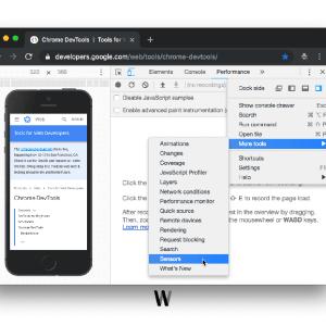 Google Chrome'da cihazları taklit etmek