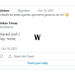 LinkedIn anketlerinden kurtulmak