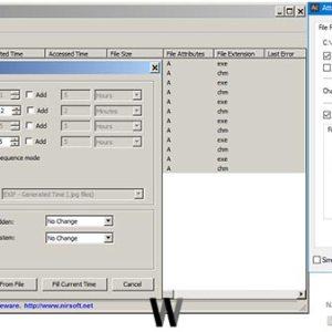 Windows için dosya öznitelik değiştirici