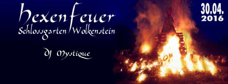 Hexenfeuer Wolkenstein Flyer 2016
