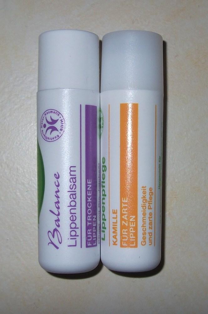 Alterra vs. Balea - Lippenpflege (2/2)