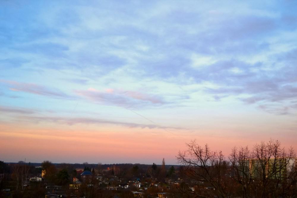 Abendhimmel über Cottbus (4/4)