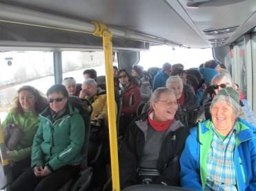 lustige Busfahrt