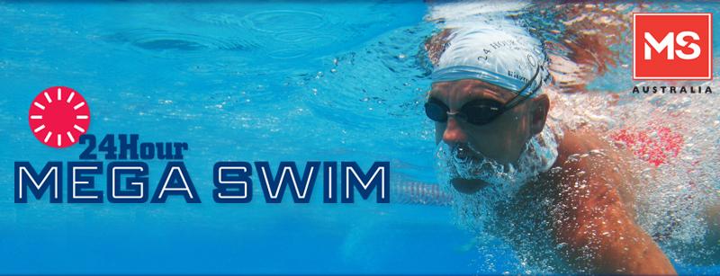 MS 24Hour Mega Swim in Wollongong