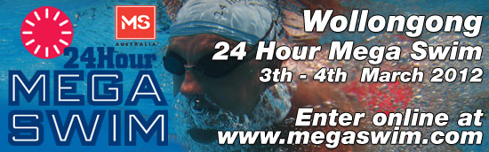 2012 Wollongong 24 Hour Mega Swim
