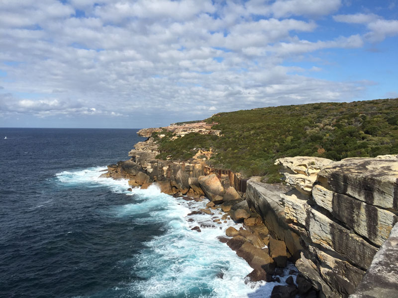 Coastal Walk from Bundeena to Otford