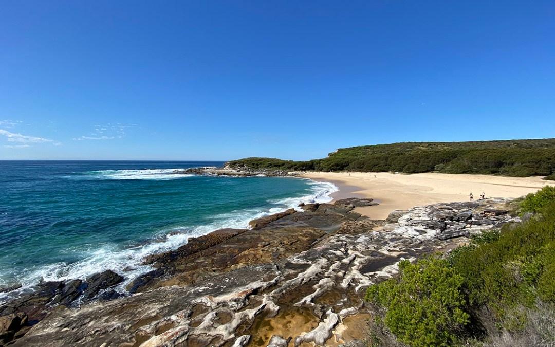 Coastal Walk To Wattamolla Beach Via Big Marley Fire Trail