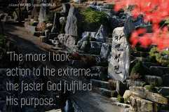 The more I took action to the extreme, the faster God fulfilled His purpose (Good WORD Spread WORLD, excerpt from Pastor Jeong Myeong Seok's sermons)