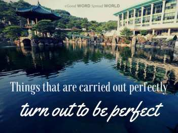 Wolmyeongdong photo proverb created by Good WORD Spread WORLD, excerpt from Pastor Jeong Myeong Seok's sermons