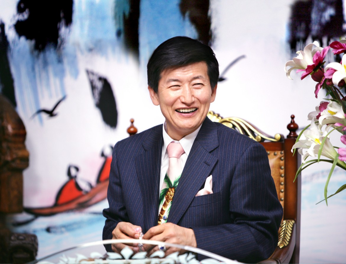 Picture of Jung Myung Seok the founder of Wolmyeongdong