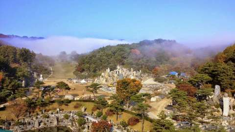 The Natural Temple of Wolmyeongdong