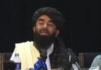rzecznik prasowy talibów