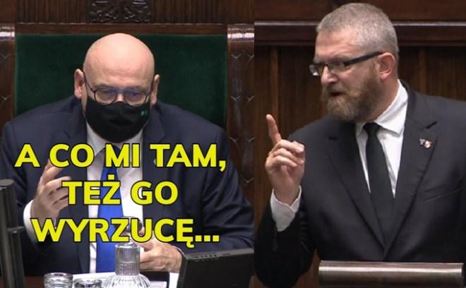 Grzegorz Braun wyrzucony z Sejmu