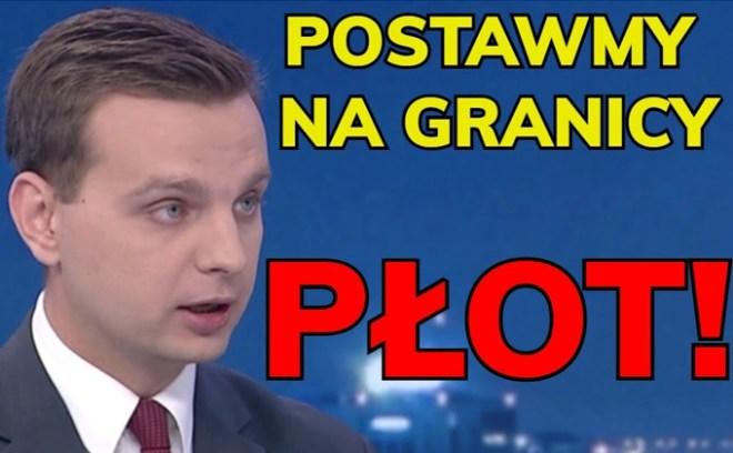 Jakub Kulesza postawmy na granicy płot