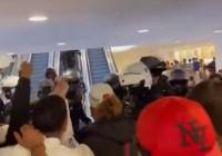 Protest we Francji Covid