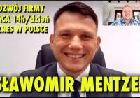 Sławomir Mentzen o biznesie