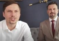 Grzegorz Płaczek i Rafał Piech