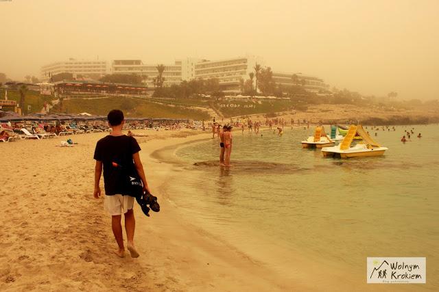 Ayia Napa najlepsze plaże Gliky Nero Beach