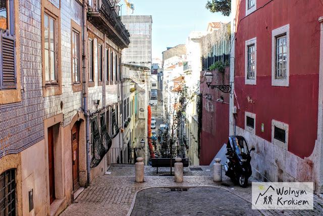 Lizbońskie uliczki
