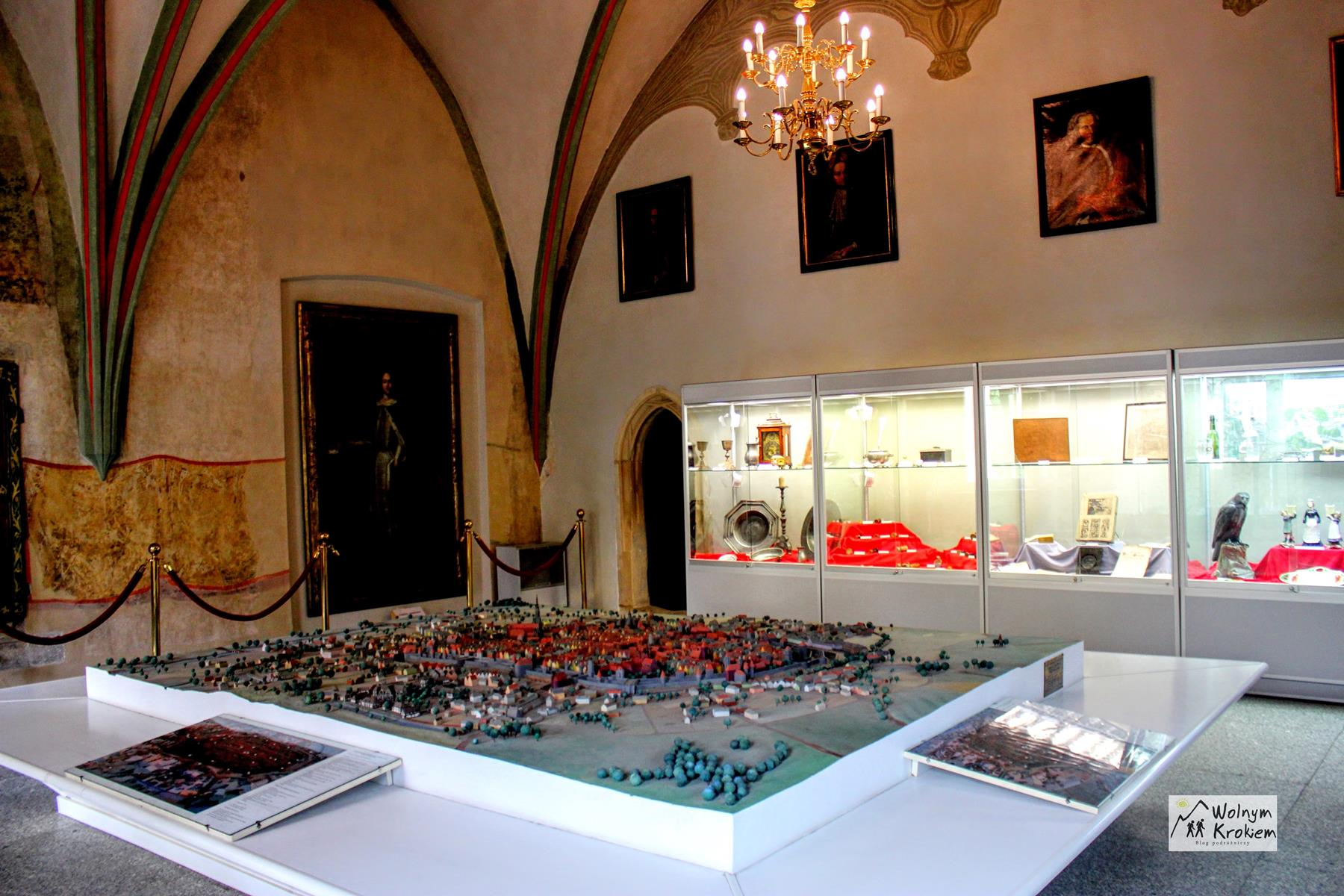 Muzeum Kupiectwa Świdnica - makieta miasta