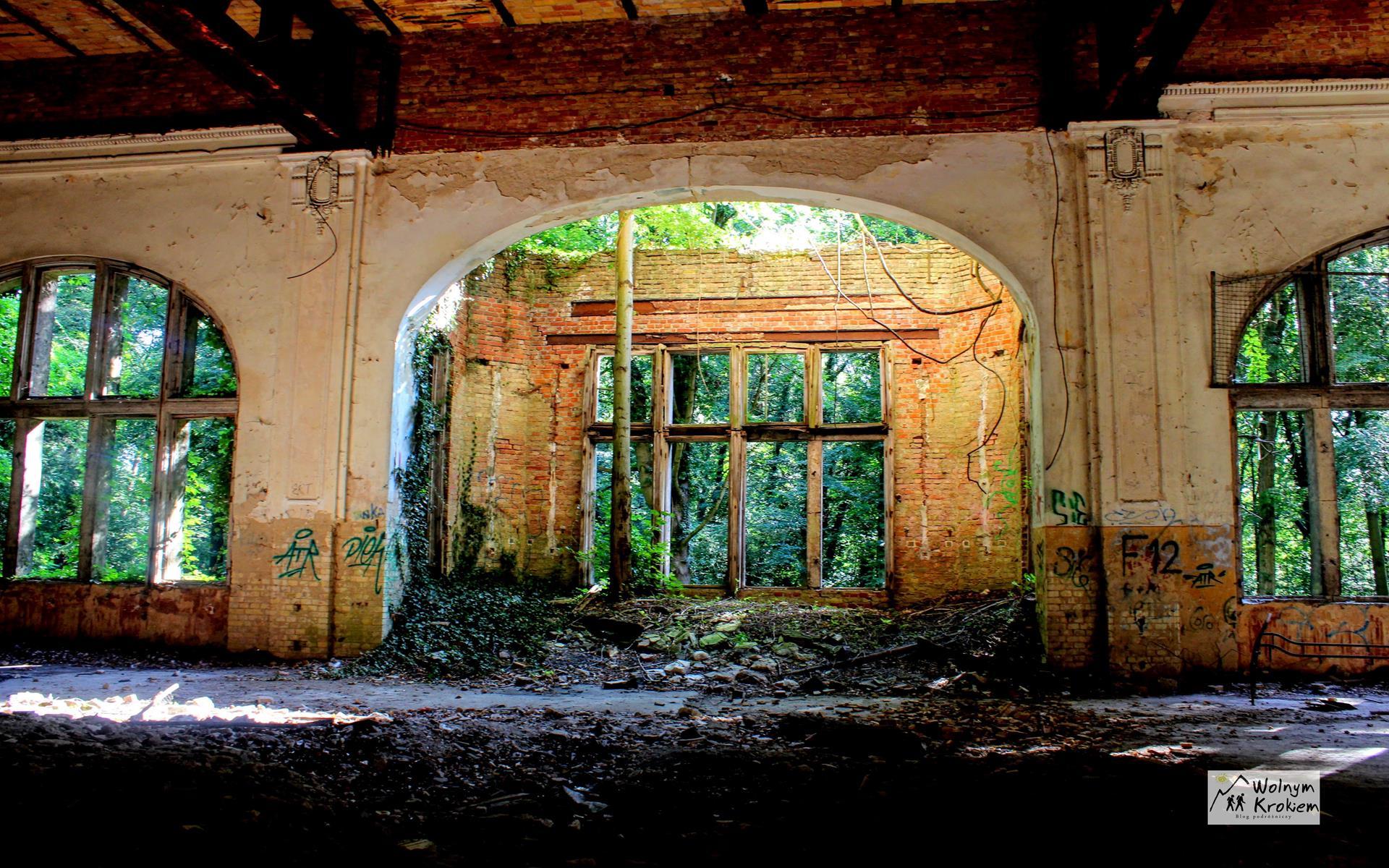 Opuszczone uzdrowisko w Beelitz