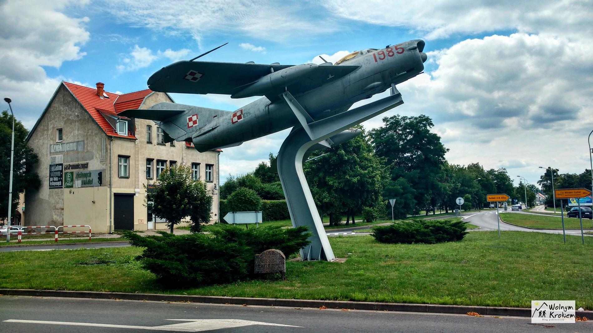 Na chwałę polskich lotników i kosmonautów w Wołowie