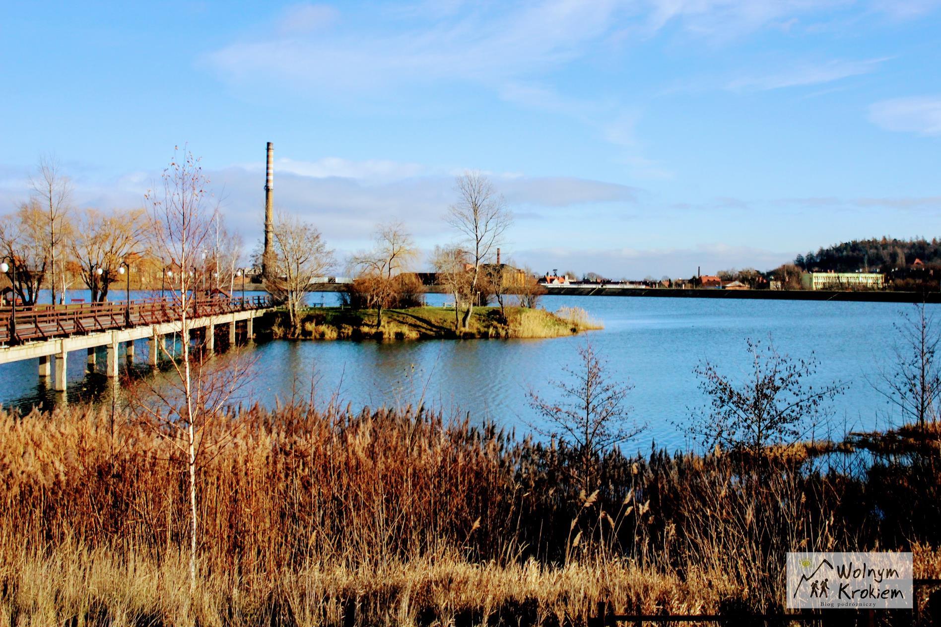 Zbiornik Sudety w Bielawie na Dolnym Śląsku