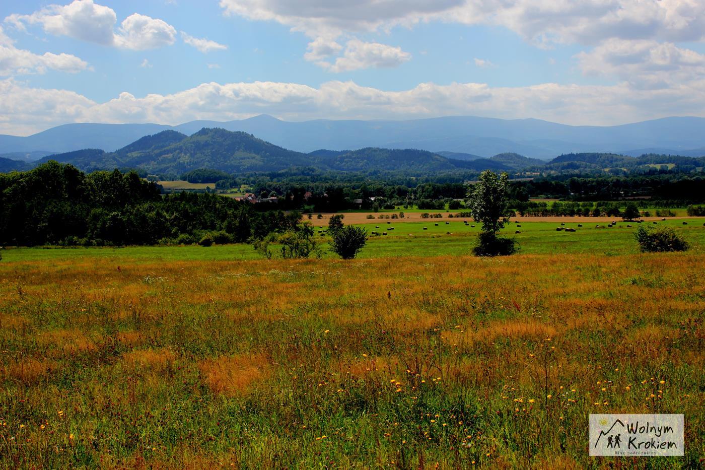 Punkt widokowy w drodze na Skopiec - Komarno