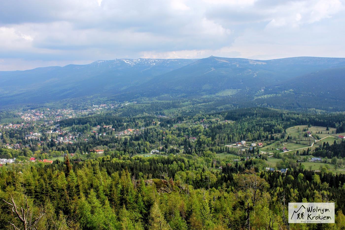 Punkt widokowy z Wysokiego Kamienia