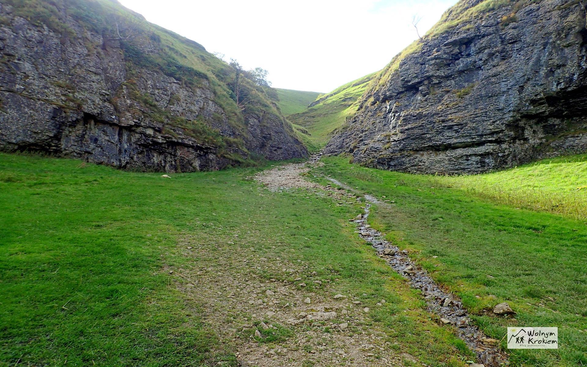 Peak District z Sekretna Dolna - Cave Dale